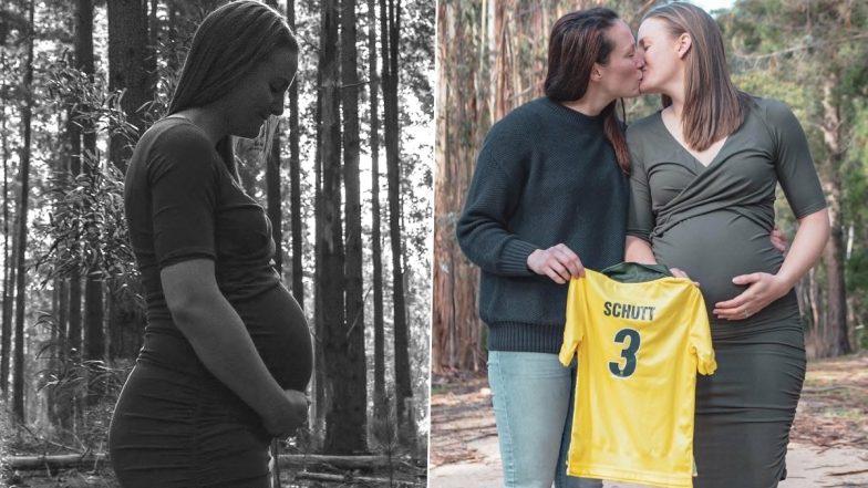 ऑस्ट्रेलियाई महिला क्रिकेटर मेगन स्कट ने अपनी गर्लफ्रेंड से की थी शादी, अब बनने वाली हैं माँ, शेयर की तस्वीरें 4