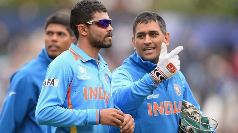 """""""महेंद्र सिंह धोनी के बल्लेबाजी टिप्स ने बदल दिया मेरा करियर"""" रविन्द्र जडेजा ने बताया 6 साल पहले धोनी ने दिया था ये सलाह 18"""