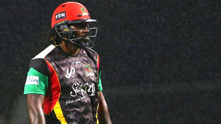 CPL 2021: बल्ला टूटने के बाद आक्रामक हुए क्रिस गेल, ठोक दिए 4 गेंदों पर 18 रन और फिर.... 2