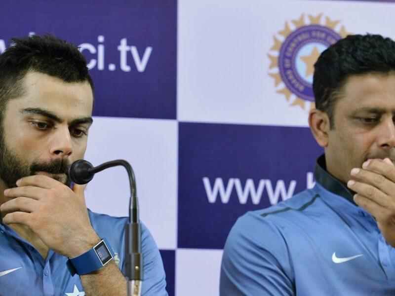 विराट कोहली की बढ़ सकती हैं मुश्किलें, अनिल कुंबले एक बार फिर बन सकते हैं भारतीय टीम के हेड कोच 11