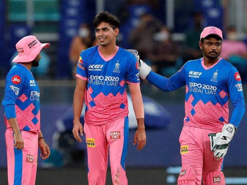 IPL 2021: मैन ऑफ द मैच लेते हुए कार्तिक त्यागी ने खुद को नहीं बल्कि इन्हें दिया जीत का पूरा श्रेय 10