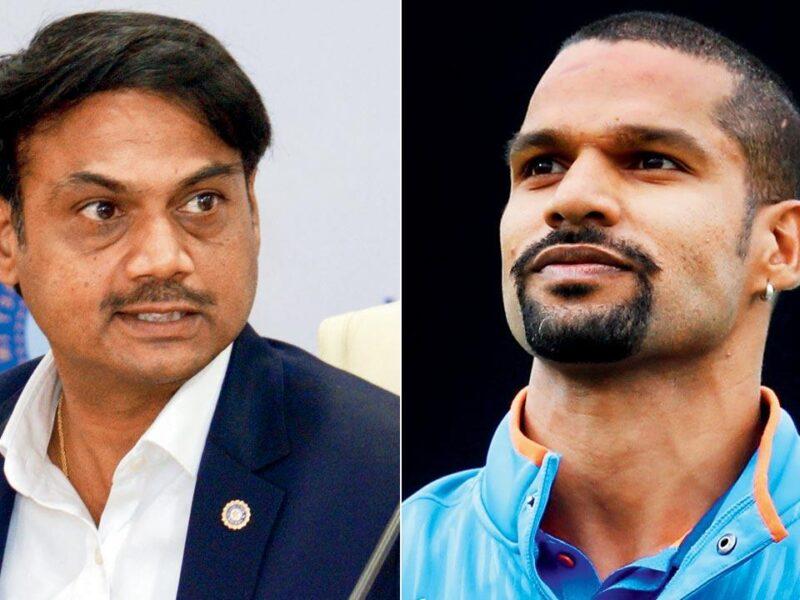 पूर्व चयनकर्ता MSK प्रसाद ने कहा शिखर धवन के साथ हुई है नाइंसाफी, टी20 विश्व कप में मिलना चाहिए था उन्हें मौका 8