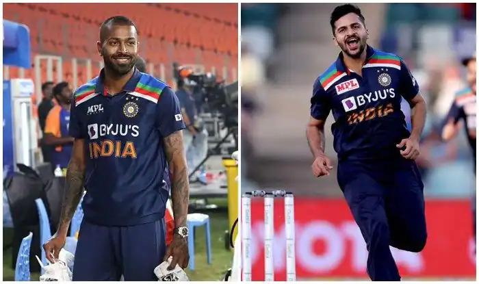 """""""टी20 विश्व कप 2021 में हार्दिक पंड्या की जगह शार्दुल ठाकुर होंगे भारतीय टीम का हिस्सा"""" 6"""