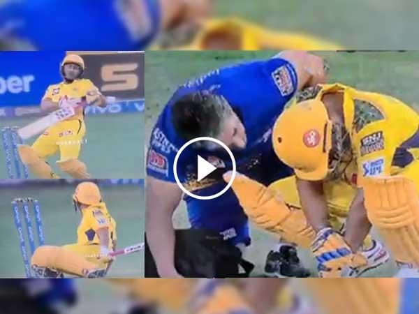 आईपीएल 2021: चेन्नई सुपर किंग्स को लगा बड़ा झटका मैच के दौरान चोटिल हुए रायडू छोड़ना पड़ा मैदान, देखें वीडियो 11