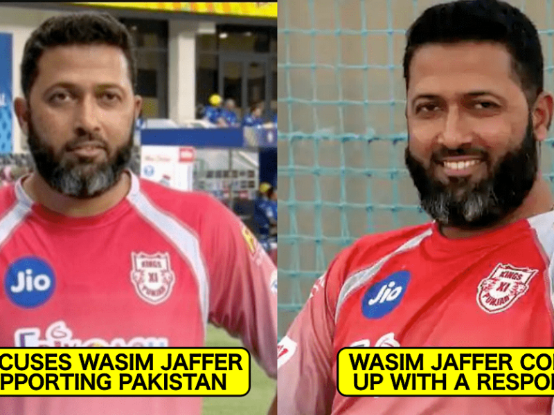 """""""वसीम भाई वही है जो भारत-पाकिस्तान मैच में खेल भावना के नाम पर पाक को सपोर्ट करता है"""" देशभक्ति पर उठा सवाल तो जाफर ने दिया करारा जवाब 4"""