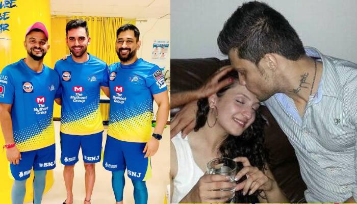 इस एक्टर की बहन से शादी करने जा रहे हैं दीपक चाहर, टीम के साथी खिलाड़ियों से कराई गर्लफ्रेंड की मुलाकात 9