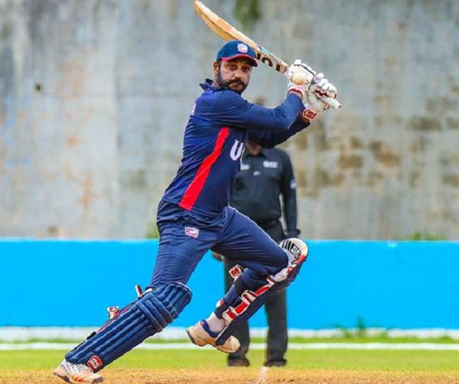 भारतीय मूल के अमेरीकी बल्लेबाज जसकरण ने एक ओवर में जड़े 6 छक्के, ध्वस्त कर दिया एबी डिविलियर्स रिकार्ड 3