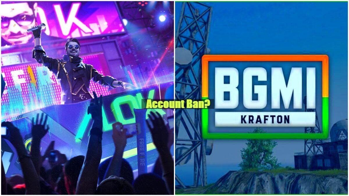 Free Fire और BGMI दोनों बैटल रॉयल गेम के डेवलपर्स ने लाखों अकाउंट किये बैन जानिए डिटेल्स 1
