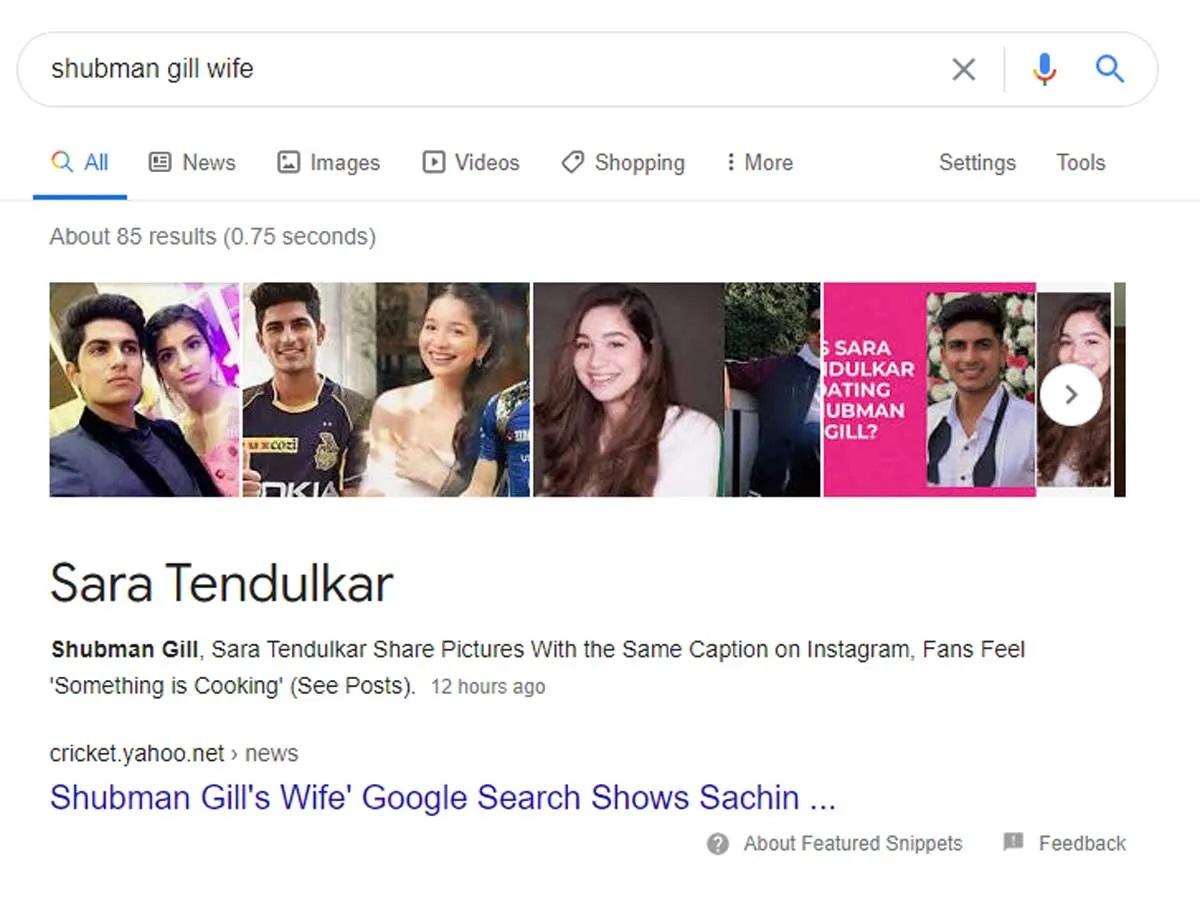 ये 3 शब्द डालिए आ जायेगा सारा तेंदुलकर का नाम, आज भी गूगल दिखाता है सचिन के बेटी से जुड़ा ये झूठ 2