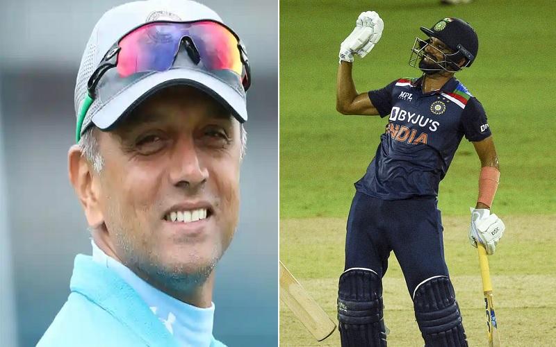"""""""आपकी ये असली उम्र है या क्रिकेट खेलने वाली"""" जब दीपक चाहर से राहुल द्रविड़ ने पूछा उनकी उम्र 1"""