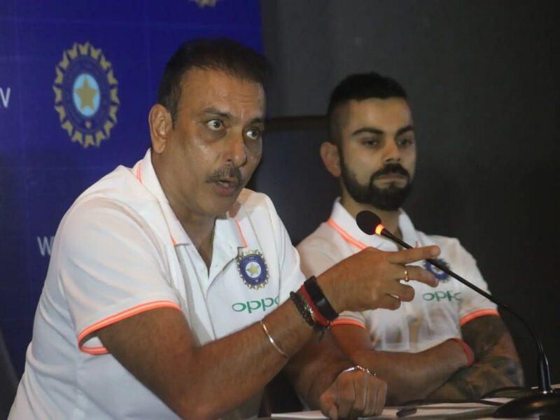 कोच पद छोड़ने से पहले रवि शास्त्री का गुरू मंत्र, क्रिकेट को बचाना है तो फुटबॉल की तरह करना पड़ेगा यह काम 1