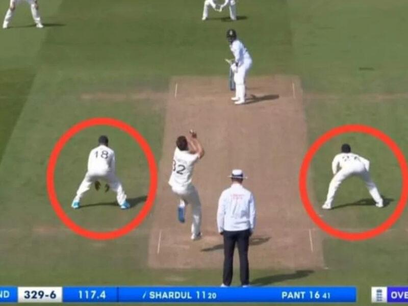 """शार्दुल ठाकुर की """"Straight Drive"""" देखकर डरे इंग्लिश कप्तान जो रूट, फ़ील्ड में करने लगे ऐसी हरकत, देख छूटेगी हंसी! देखें वीडियो 14"""