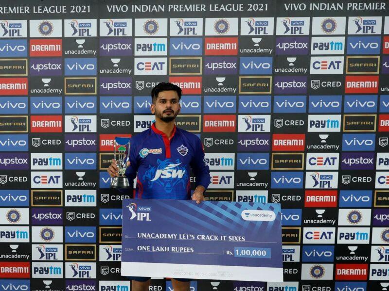 IPL 2021: दिल्ली कैपिटल्स और सनराइजर्स हैदराबाद के बीच मैच में हुई पैसो की बारिश, जानिए किस खिलाड़ी को इनाम के तौर पर मिले कितने रूपये 11