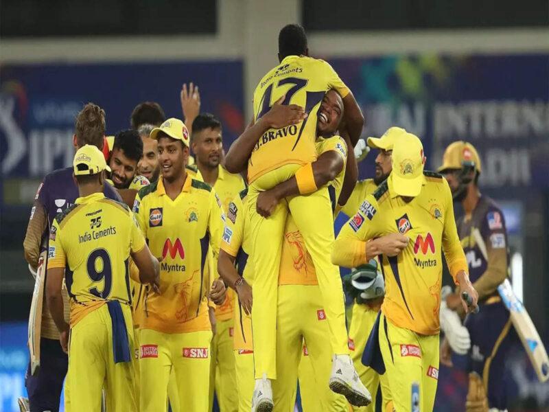आईपीएल 2021- फाइनल मैच में जीत के बाद चेन्नई सुपर किंग्स के खिलाड़ियों ने व्यक्त की अपनी खुशी, इन खिलाड़ियों ने दी अपनी प्रतिक्रिया 8