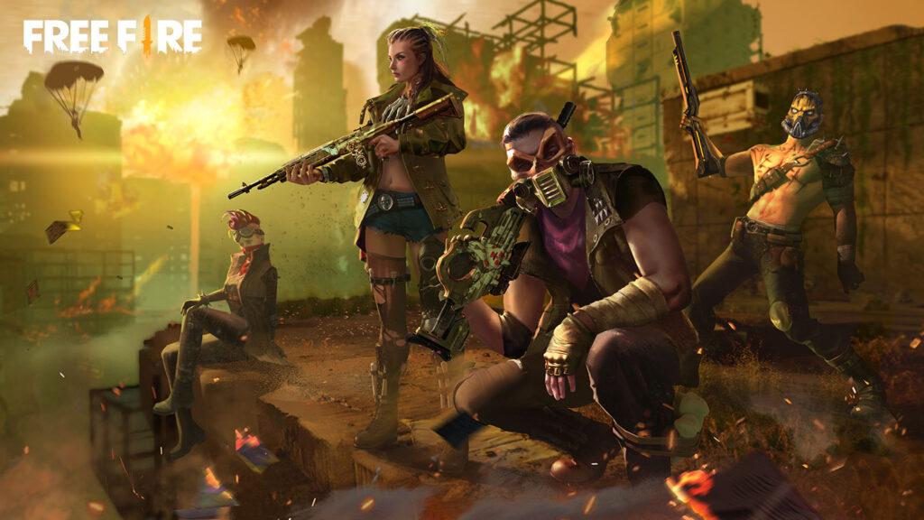 Free Fire में अग्रेसिव गेमप्ले के लिए 3 शक्तिशाली कैरेक्टर्स 2