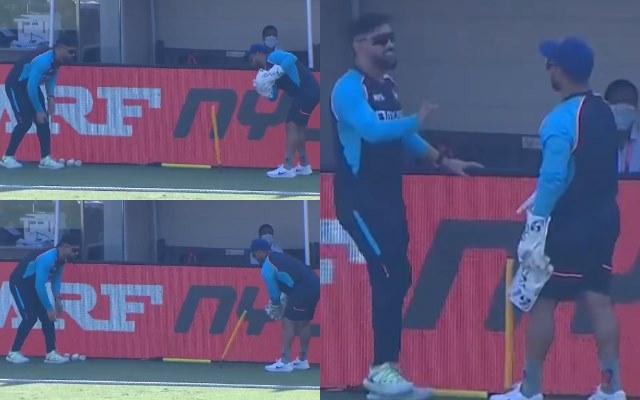 लाइव मैच के दौरान एमएस धोनी और ऋषभ पंत ने अपनी ओर खींचा सभी का ध्यान, दुविधा में पड़ा कैमरामैन! देखें विडियो 7