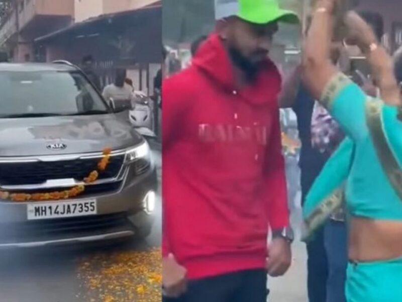 आईपीएल 2021- चेन्नई को चैंपियन बनाने वाले ऋतुराज गायकवड़ लौटे घर, हुआ भव्य स्वागत 4