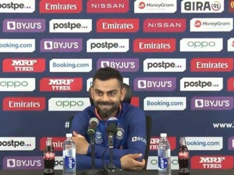 ICC T20WC- हार के बाद रोहित शर्मा को टी20 टीम से बाहर करने को लेकर किया गया सवाल तो विराट कोहली ने बंद की बोलती 14