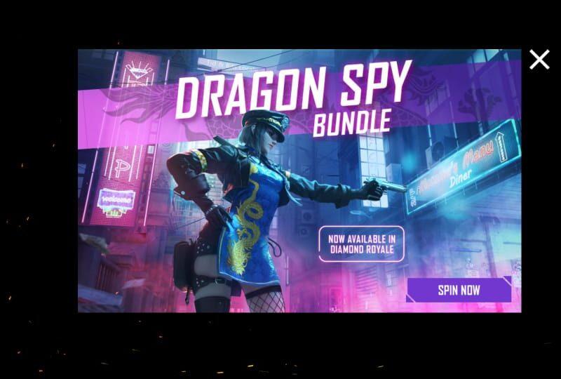 Free Fire में Dragon Spy बंडल को कैसे प्राप्त करें? 16