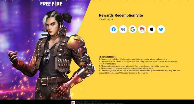 Free Fire में 12 अक्टूबर 2021 का रिडीम कोड 1